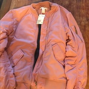 H&M's rose colored jacket